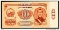 """10 Tugrik    """"MONGOLIE""""    1966   UNC  Bc116 - Mongolia"""