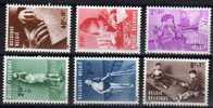 Belgique Serie N°  1225 / 1230  Luxe ** - Belgien