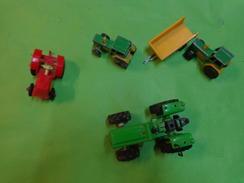 Lot De  Jouets Agricole  Tracteurs - Remorque (3 Jouets Sont Des Majorette)-new Ray+bonux - Altre Collezioni