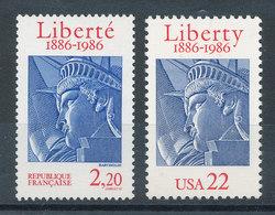 2421** Statue De La Liberté - Emission Commune France-USA - Nuevos