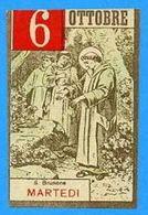 """S. BRUNONE - Serie """"i Santi Del Calendario) Mm.55x85 - Epoca - Religione & Esoterismo"""