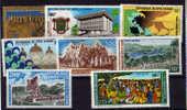 Cote-d'Ivoire 1971-1973**  UAMPT., UNESCO  Cote 45 E Sans Charnière ++  Postfrich - Côte D'Ivoire (1960-...)