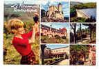 13471 Roannais Touristique . Iris 42.187.144 Vin Vendange Pin Up , Multi Vues - France