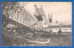 Serbien; Zemun; Semlin; Eisenbahnbrücke; 1916 Stempel Zensur Belgrad - Serbia