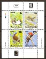 Marshall Islands 1990 Yvertn° Bloc 9 *** MNH Cote 5 € Faune Oiseaux Vogels Birds - Marshall