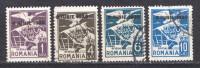 Rumänien; Dienstmarken; 1930; Michel 13; 16; 17/88 O; Adler Und Wappen Mit Aufdruck 8 IUNIE 1930 - Service