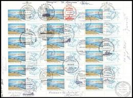 "RUSSIA Sheet ""SAFE ARCTIC NATURE"" FAUNA POLAR NORD DRIFT STATION NORTH POLE NUCLEAR ICEBREAKER EISBRECHER - Arctic Wildlife"
