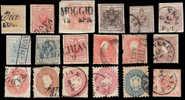 TDM 342 - LOMBARDO VENETO Lotto di 18 esemplari di qualit� mista
