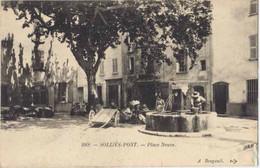 83034 . VAR . SOLLIES-PONT . Place Neuve . - Sollies Pont