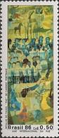 BRAZIL - INTERNATIONAL PEACE YEAR, CANDIDO PORTINARI'S WORK 1986 - MNH - Arte