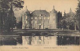 83078 . VAR . SOLLIES PONT . Chateau De Saporta . Vue Du Lac  . - Sollies Pont