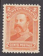 Newfoundland 1897 2c Orange  SG86    MNH - 1865-1902