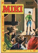 """Albi Di Capitan Miki (Dardo 1964 """"libretto""""  N. 91 - Libri, Riviste, Fumetti"""