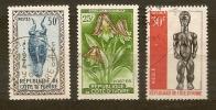 COTE D´IVOIRE  - N. 188-195-247/US - 1960/1967  Lot Lotto - Costa D'Avorio (1960-...)