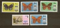 BHUTAN Bhoutan  N.447-448-449-459/** - Farfalle, Papillons -1975 - Lot Lotto - Bhutan
