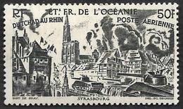 OCEANIE   1946  - PA  25  -  50 F  Brun  - NEUF**- Cote 4e - Poste Aérienne