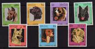 Laos 1987 ++ Chiens 770/776 **  Cote 8,25 E  ++Postfrich ++Mint N.H - Perros