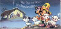 "COMICS, ANTEOJITO - ""NOCHE DE PAZ, NOCHE DE AMOR"" CPSM POSTAL CUAC - Stripverhalen"