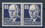 DDR Michel Nr. 339 v a X II PF III ** postfrisch Paar / gepr�ft BPP Mayer