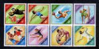 Hungria Yv2236-43 ** Fútbol, Jabalina, Water Polo, Canoa, Boxeo, Gimnasia, Lucha, Esgrima. Ver Scan. - Estate 1972: Monaco