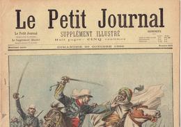 LE PETIT JOURNAL N° 415 - 30 Octobre 1898 Samory Jacquin Marchand Crime Roanne - Journaux - Quotidiens