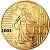 ** 50 CENT 2001 FRANCE PIECE NEUVE ** - France