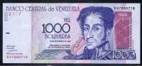 Billet 1000 Bolivares NEUF 10/10 émission Du 10/09//98: Billet Scanné= Billet Livré - Venezuela