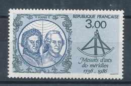 2428** Mesures D'Arcs De Méridien - France