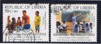 LB+ Liberia 1994 Mi 1578-79 - Liberia