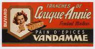Buvard Pain D´épices VANDAMME Couque Annie - Gingerbread
