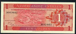 NETHERLANDS ANTILLES  P20  1 GULDEN 1970 Signature 3  UNC. - Aruba (1986-...)