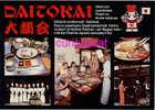PUBLICITE REKLAME WERBUNG Für DAITOKAI JAPANESE JAPON RESTAURANT POSTCARD GERMANY - Hotels & Restaurants