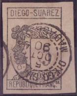 DIEGO-SUAREZ N°7 OBLITERE .TBE