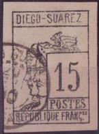 DIEGO-SUAREZ N°8 OBLITERE .TBE