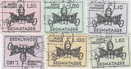 Vatican-1968 Postage Due Papal Arms Used Set - Vatican
