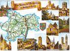 Carte Postale 71.  Département De Saône Et Loire Trés Beau Plan - Unclassified