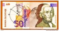 """50 Tolar    """"SLOVENIE""""            Bc131 - Slovénie"""