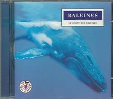 CD MUSIQUE ET NATURE BALEINES LE CHANT DES BALEINES - Musik & Instrumente