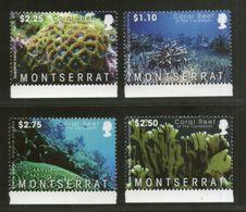Montserrat 2009 Marine Life Coral Reef Sc 1218-21 4v MNH  # 431 - Marine Life