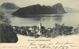 Suisse - Swiss - Schweiz - Pionnières - Pionnière - Lucerne - Vitznau Und Bürgenstock - Circulé 1899 - état - LU Lucerne