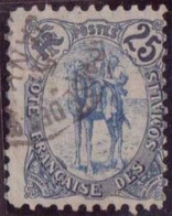 COTE SOMALIS  N°44 OBLITERE  TBE - Côte Française Des Somalis (1894-1967)