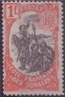 COTE SOMALIS  N°64* AVEC CHARNIERE NEUF BE - Côte Française Des Somalis (1894-1967)