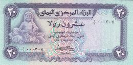 YEMEN 20 RIAL 1983 P19a UNC PREFIX 1 Low SERIAL 000XXX */* - Yemen