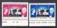 British Guiana 297-8  **  CHURCHILL  PAINTINGS - British Guiana (...-1966)