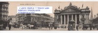 """CPA / PANORAMIC / 1904 TBE / """"RARE""""ATTELAGES / TRAMWAY / ANIMEE / - Multi-vues, Vues Panoramiques"""