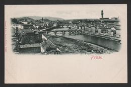 IT6) Firenze / Florence - Panorama - Undivided Back - Firenze (Florence)