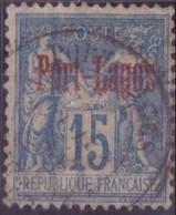 PORT-LAGOS N°3 OBLITERE  TBE - Puerto Lagos (1893-1931)