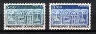 Andorre Français - 335/336** (YT) Série Courante - Écu Primitif Des Vallées. - Unused Stamps