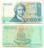 Croacia - Croatia 100000 Dinara 1993 Pk 27 A Ref 601-1 UNC - Croacia