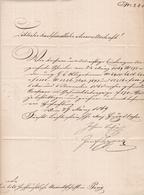 Lettre Österreich Autriche Pour Prague 1869 Cachet De Cire Praha Tchécoslovaquie - Brieven En Documenten
